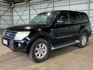 2011 Mitsubishi Pajero NT MY11 30th Anniversary Black 5 Speed Sports Automatic Wagon.