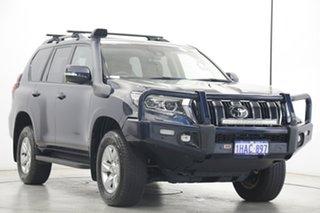 2020 Toyota Landcruiser Prado GDJ150R GXL Black 6 Speed Sports Automatic Wagon