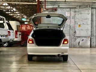 1998 Nissan Pulsar N15 LX White 4 Speed Automatic Hatchback