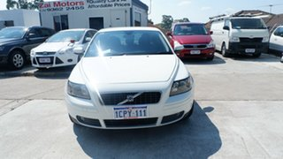 2007 Volvo S40 M Series MY07 S White 5 Speed Sports Automatic Sedan.