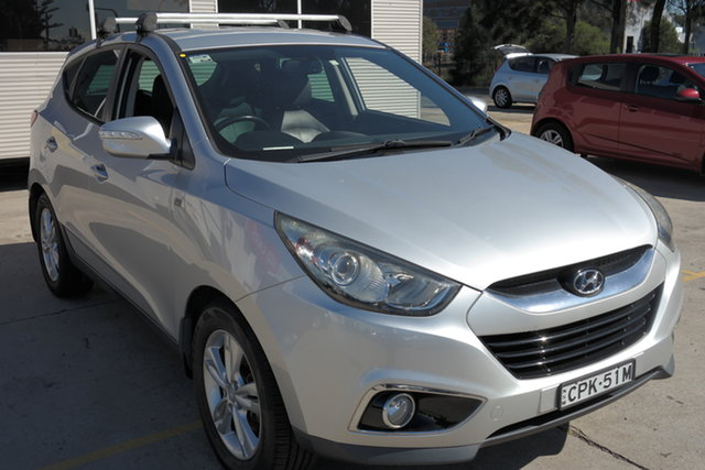 Used Hyundai ix35 LM2 SE AWD Maryville, 2013 Hyundai ix35 LM2 SE AWD Silver 6 Speed Sports Automatic Wagon