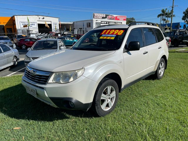 Used Subaru Forester S3 MY10 X AWD Luxury Clontarf, 2010 Subaru Forester S3 MY10 X AWD Luxury White 4 Speed Sports Automatic Wagon