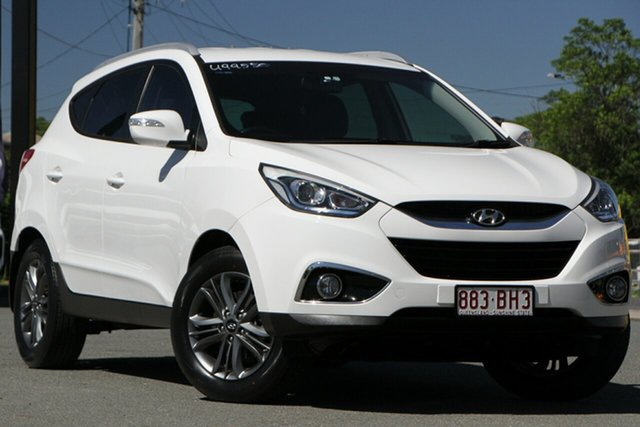 Used Hyundai ix35 LM3 MY14 SE Rocklea, 2014 Hyundai ix35 LM3 MY14 SE Polar White 6 Speed Manual Wagon