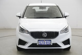 2019 MG MG3 SZP1 MY18 Excite Mountain White 4 Speed Automatic Hatchback.
