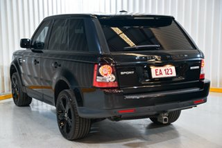 2013 Land Rover Range Rover Sport L320 MY13.5 HSE Luxury Black White 6 Speed Sports Automatic Wagon