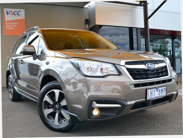Used Subaru Forester S4 MY16 2.0D-L CVT AWD Fawkner, 2016 Subaru Forester S4 MY16 2.0D-L CVT AWD Sepia Bronze 7 Speed Constant Variable Wagon