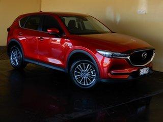 2019 Mazda CX-5 MY19 (KF Series 2) Maxx Sport (4x4) Red 6 Speed Automatic Wagon