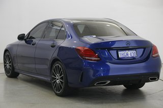 2017 Mercedes-Benz C-Class W205 807+057MY C200 9G-Tronic Blue 9 Speed Sports Automatic Sedan