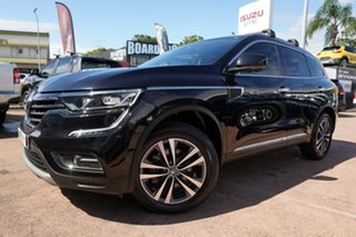 2017 Renault Koleos HZG MY17 Intens X-Tronic (4x4) Black Continuous Variable Wagon.
