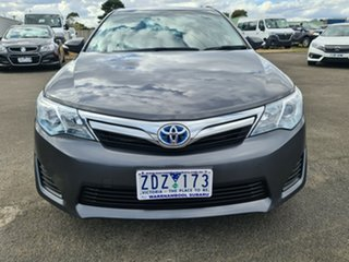 2012 Toyota Camry AVV50R Hybrid H Grey 1 Speed Constant Variable Sedan Hybrid.