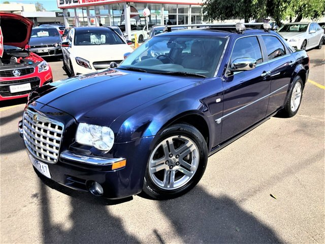 Used Chrysler 300C MY2006 Seaford, 2006 Chrysler 300C MY2006 Blue 5 Speed Sports Automatic Sedan