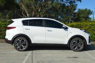2020 Kia Sportage QL MY20 GT-Line AWD White 6 Speed Sports Automatic Wagon