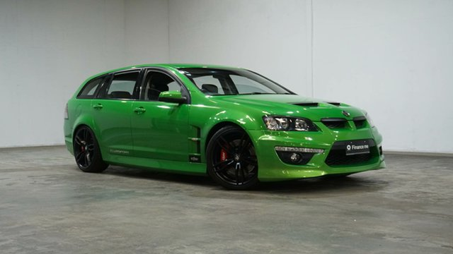 Used Holden Special Vehicles ClubSport E Series 2 R8 Tourer Welshpool, 2010 Holden Special Vehicles ClubSport E Series 2 R8 Tourer Green 6 Speed Sports Automatic Wagon