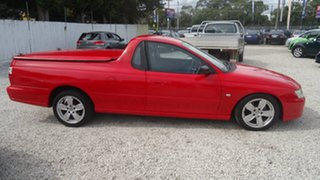 2005 Holden Ute VZ Red 4 Speed Automatic Utility