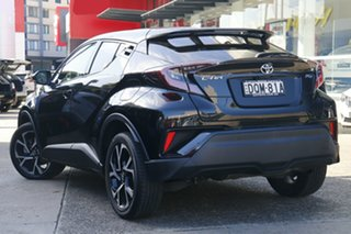 2017 Toyota C-HR NGX50R Koba S-CVT AWD Black 7 Speed Constant Variable Wagon.