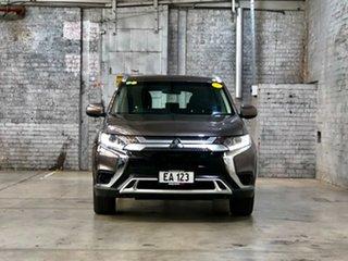 2018 Mitsubishi Outlander ZL MY18.5 ES 2WD Bronze 6 Speed Constant Variable Wagon.