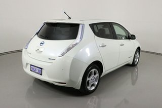 2014 Nissan Leaf ZE0 White 1 Speed Automatic Hatchback