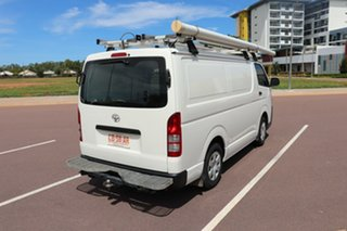 2014 Toyota HiAce TRH201R MY14 LWB French Vanilla 5 Speed Manual Van.