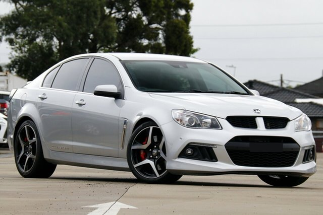 Used Holden Special Vehicles ClubSport Gen-F MY14 Chullora, 2013 Holden Special Vehicles ClubSport Gen-F MY14 Silver 6 Speed Sports Automatic Sedan