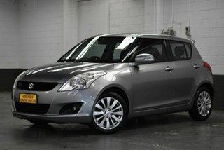 2012 Suzuki Swift FZ RE2 Grey 5 Speed Manual Hatchback.