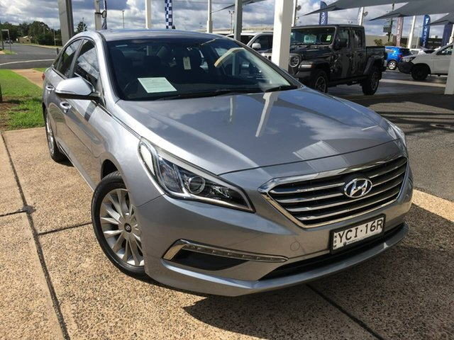 Used Hyundai Sonata LF Active Dubbo, 2015 Hyundai Sonata LF Active Silver 6 Speed Sports Automatic Sedan