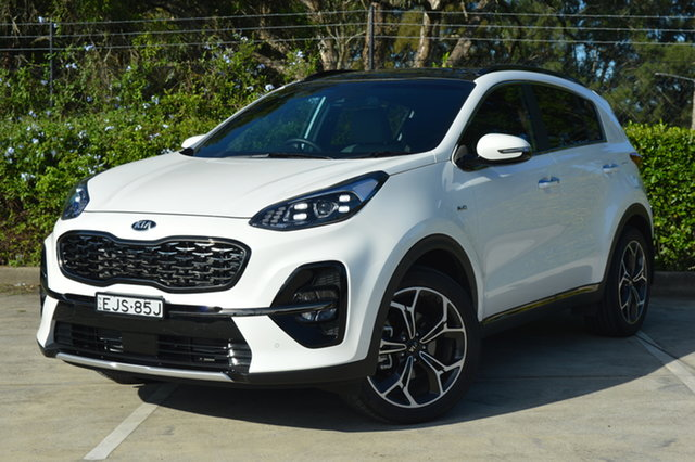 Used Kia Sportage QL MY20 GT-Line AWD Maitland, 2020 Kia Sportage QL MY20 GT-Line AWD White 6 Speed Sports Automatic Wagon