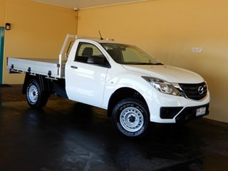 2019 Mazda BT-50 XT Hi-Rider (4x2) (5Yr) White 6 Speed Manual Cab Chassis