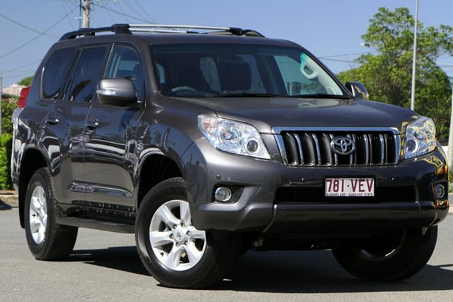 Used Toyota Landcruiser Prado KDJ150R Altitude Rocklea, 2013 Toyota Landcruiser Prado KDJ150R Altitude Graphite 5 Speed Sports Automatic Wagon