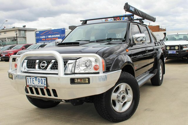 Used Nissan Navara D22 S5 ST-R Coburg North, 2014 Nissan Navara D22 S5 ST-R Black 5 Speed Manual Utility