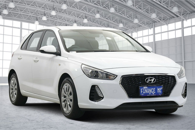 Used Hyundai i30 PD MY19 Go Victoria Park, 2019 Hyundai i30 PD MY19 Go White 6 Speed Sports Automatic Hatchback