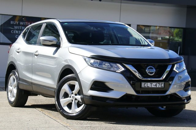 Used Nissan Qashqai J11 Series 2 ST X-tronic Homebush, 2018 Nissan Qashqai J11 Series 2 ST X-tronic Silver 1 Speed Constant Variable Wagon