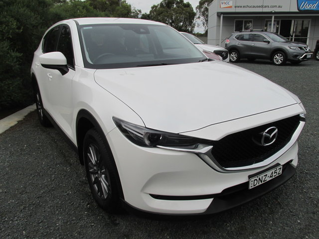 Used Mazda CX-5 Echuca, 2017 Mazda CX-5 MAXX SPORT White 6 Speed Automatic Wagon