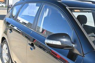 2010 Hyundai i30 FD MY10 SX cw Wagon Black 4 Speed Automatic Wagon.