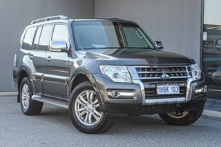 2018 Mitsubishi Pajero NX MY18 GLX Grey 5 Speed Sports Automatic Wagon.