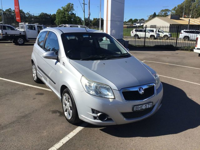 Pre-Owned Holden Barina TK MY09 Cardiff, 2009 Holden Barina TK MY09 Silver 5 Speed Manual Hatchback