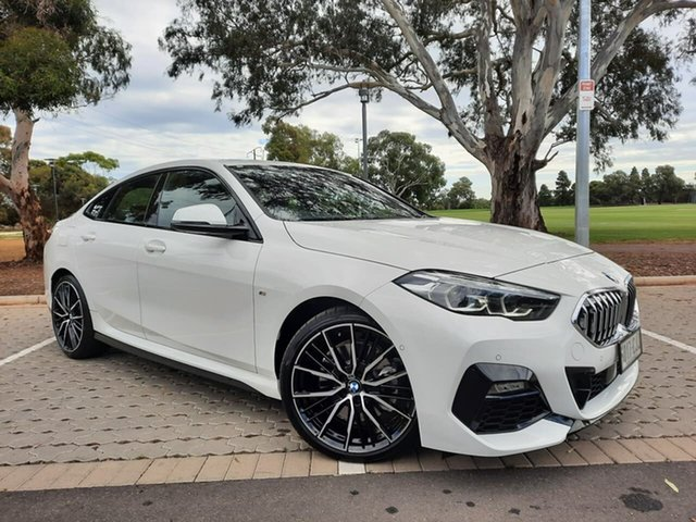 Used BMW 2 Series F44 220i Gran Coupe DCT Steptronic M Sport Adelaide, 2020 BMW 2 Series F44 220i Gran Coupe DCT Steptronic M Sport White 7 Speed