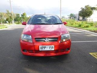 2007 Holden Barina TK Red Manual Hatchback.