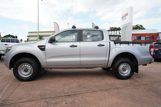 2012 Ford Ranger PX XL 2.2 Hi-Rider (4x2) Silver 6 Speed Automatic Crew Cab Pickup