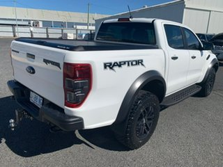 2020 Ford Ranger PX MkIII 2020.25MY Raptor White 10 Speed Sports Automatic Double Cab Pick Up