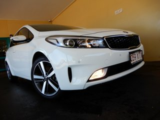 2017 Kia Cerato YD MY18 Sport White 6 Speed Auto Seq Sportshift Hatchback