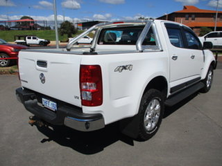 2013 Holden Colorado RG Crewcab LTZ White 5 Speed Manual Dual Cab