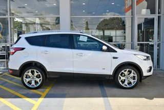 2019 Ford Escape ZG 2019.25MY Titanium White 6 Speed Sports Automatic Dual Clutch SUV