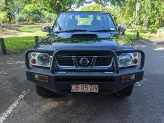 2013 Nissan Navara D22 S5 ST-R Black 5 Speed Manual Utility.