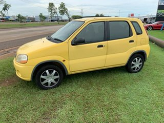 2003 Suzuki Ignis RG413 GL Yellow 5 Speed Manual Hatchback.