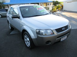2007 Ford Territory SY 2WD Silver 4 Speed Automatic Wagon.