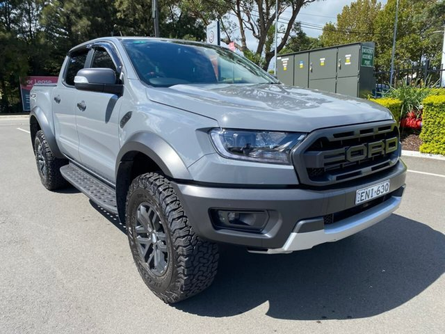 Used Ford Ranger PX MkIII 2020.75MY Raptor Botany, 2020 Ford Ranger PX MkIII 2020.75MY Raptor Grey 10 Speed Sports Automatic Double Cab Pick Up