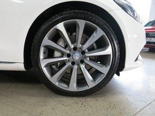 2016 Mercedes-Benz C-Class W205 806+056MY C250 7G-Tronic + White 7 Speed Sports Automatic Sedan