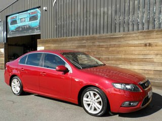2009 Ford Falcon FG G6 Limited Edition Red 4 Speed Sports Automatic Sedan.