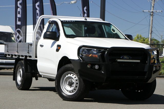 Used Ford Ranger PX MkII XL Plus Rocklea, 2016 Ford Ranger PX MkII XL Plus Cool White 6 Speed Sports Automatic Cab Chassis