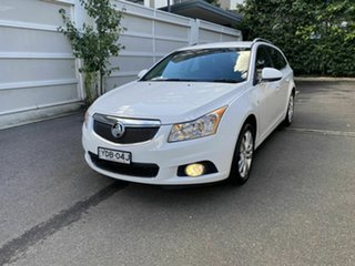 2015 Holden Cruze JH Series II MY15 CDX Sportwagon White 6 Speed Sports Automatic Wagon